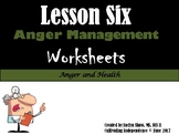 Lesson 6 Anger Management Worksheets