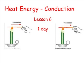 Lesson 6 - Heat Energy-Conduction - Energetic Connections