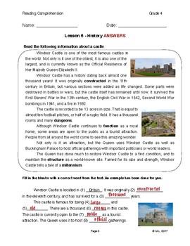 Lesson 6 - History (Grade 4)