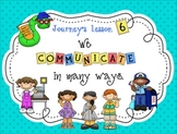 Lesson 6: Houghton Mifflin Journeys 3rd grade for SMART Board