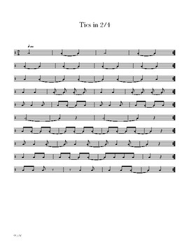 Lesson 6 - Snare Drum Mastery 101 - 5,6,7 Stroke Rolls, 2/4 Time Signature