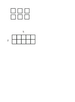 Lesson 60-1 Multiplication Arrays