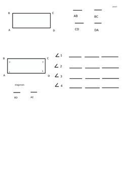 Lesson 64 Naming Sides, Angles, & Diagonals