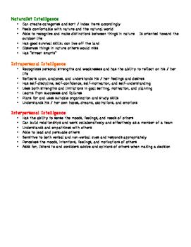 Lesson 7 - 8 Kinds of Smart MI Cheat Sheet