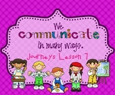 Lesson 7: Houghton Mifflin Journeys 3rd grade for SMART Board