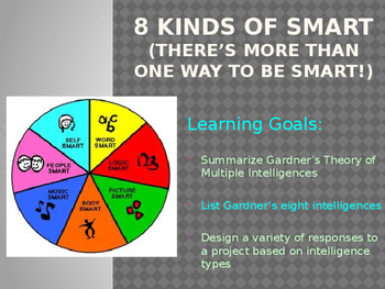 Lesson 7 - Study Skills - 8 Kinds of Smart