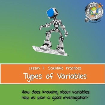 Lesson 7, Types of Variables