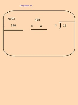 Lesson 73 Multiplying 2-Digit By 2-Digit Numbers