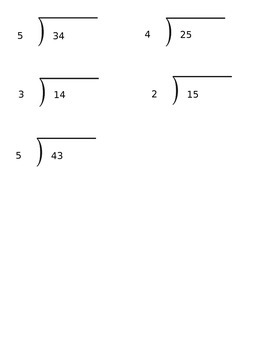 Lesson 76 Dividing By 4 And Remainders