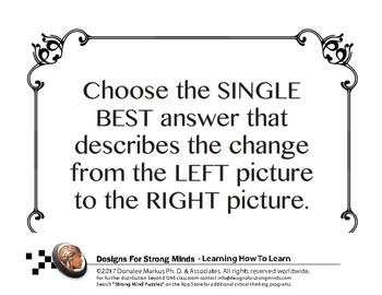 Comparisons Lesson Set 8