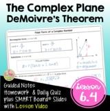 DeMoivre's Theorem (PreCalculus - Unit 6)