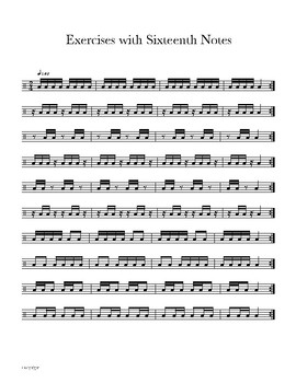 Lesson 8 - Snare Drum Mastery 101 - 15 & 17 Stroke Roll, Into to Sixteenth Notes