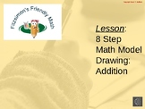 Lesson:  8 Step Math Model Drawing:  Addition (Example)