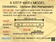 Lesson:  8 Step Math Model Drawing:  Division Without Remainder (Example)