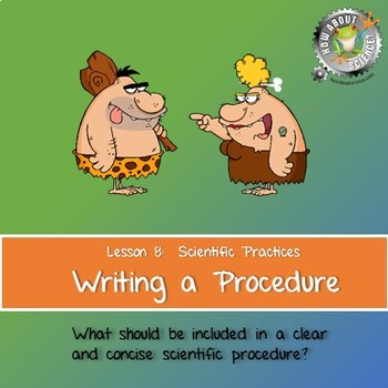 Lesson 8, Writing a Procedure