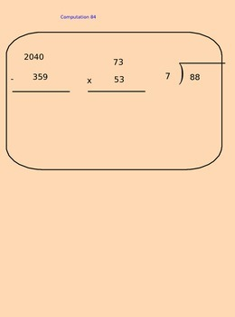 Lesson 84 Changing Improper Fractions To Mixed Numbers