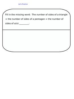 Lesson 85-2 Assessment
