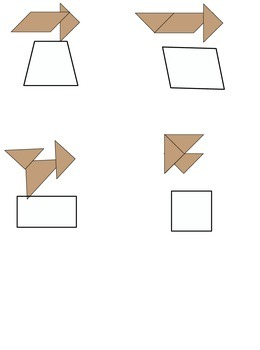 Lesson 86 Using Tangrams To Name And Draw Quadrilaterals
