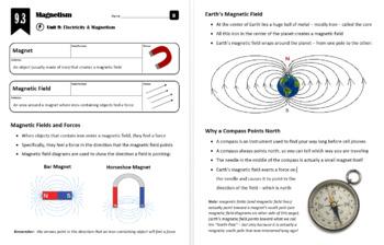 Lesson 9.3 - Magnetism