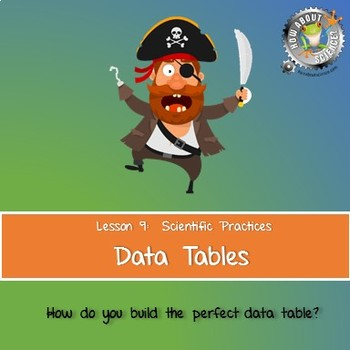 Lesson 9, Data Tables