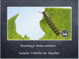 Lesson 9 Intervention Tab-Day 1 Journey's Write in Reader