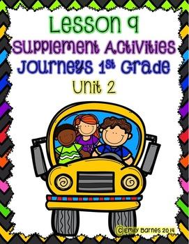 Lesson 9 Journeys 1st Grade Supplement Activities Unit 2