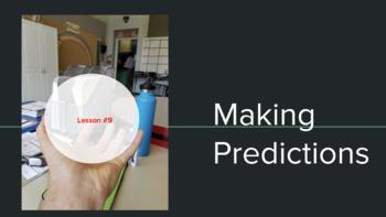 Lesson #9: Making Predictions