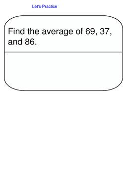 Lesson 90-2 Assessment
