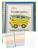 Lesson Plan Book Template Editable