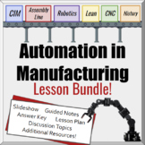 Lesson Bundle- Automation and Manufacturing