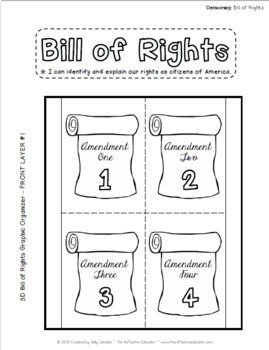 Bill of Rights (All 10 Amendments) ~ Lesson Bundle