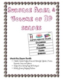 Lesson Bundle: Surface Area and Volume