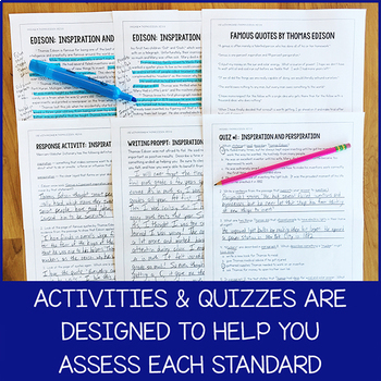 Lesson Bundle for All Fifth-Grade RI Standards