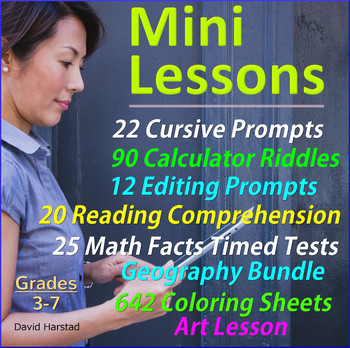 Lesson Bundles - Centers - Mini Lessons
