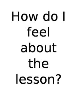 Lesson Check