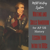 Lesson Four--Introduction to DBQs from APUSH Writing and Skills Handbook