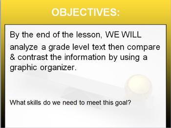 Lesson: Intro to COMPARE & CONTRAST RL 6.9