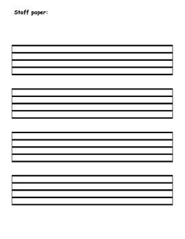 Lesson Journal for Music Lessons