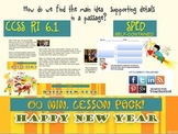 Lesson: New Year MAIN IDEA & SUPPORTING DETAILS RI 6.1