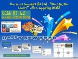 "Lesson: ""New Year, New Country"" SUMMARIZING RI 6.2"