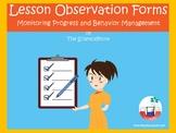 Lesson Observation Form