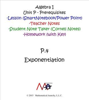 Lesson P.4 - Exponentiation