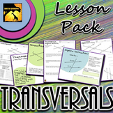 Transversals and Parallel Lines: Inquiry Lesson Pack