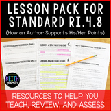 Lesson Pack for RI.4.8 (How an Author Supports His or Her Points)