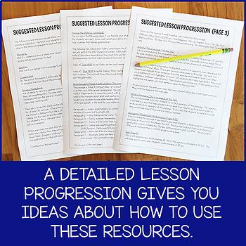 Lesson Pack for RI.5.2 (Main Idea and Writing Summaries)