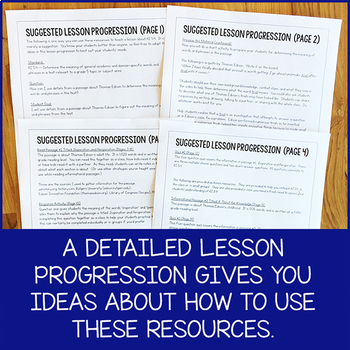 Lesson Pack for RI.5.4 (Determine Meaning of Words and Phrases)