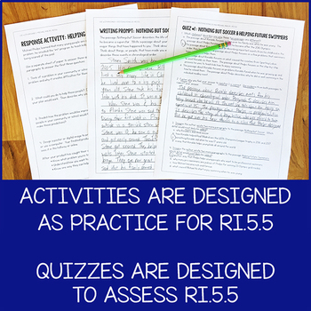 Lesson Pack for RI 5.5 (Text Structure)