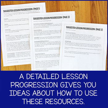 Lesson Pack for RI.5.5 (Text Structure)
