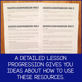 Lesson Pack for RI.5.6 (Analyze Multiple Accounts of a Topic)