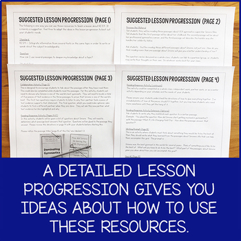 Lesson Pack for RI 5.9 (Reading Multiple Texts About a Topic)
